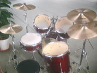 大謙館 音楽ホール 楽器 ドラムセット