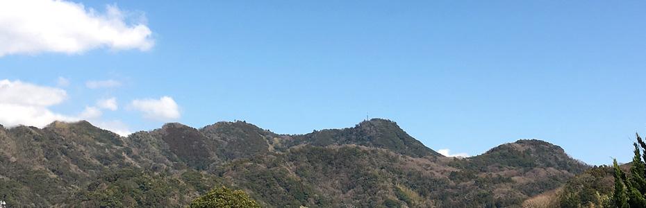 南房総の山々