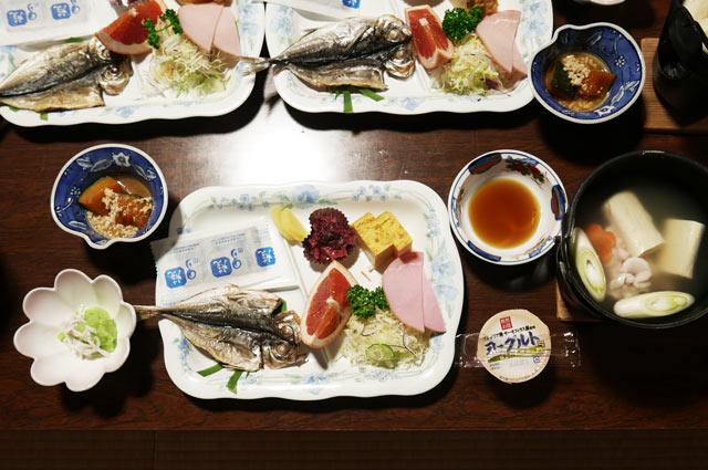 大謙館の朝食の画像