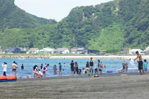 岩井海岸海水浴場の画像