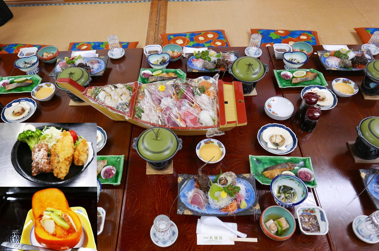 大謙館の特別料理の画像