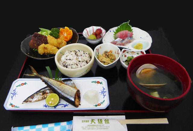 大謙館 昼食(一般のお客様用)の画像