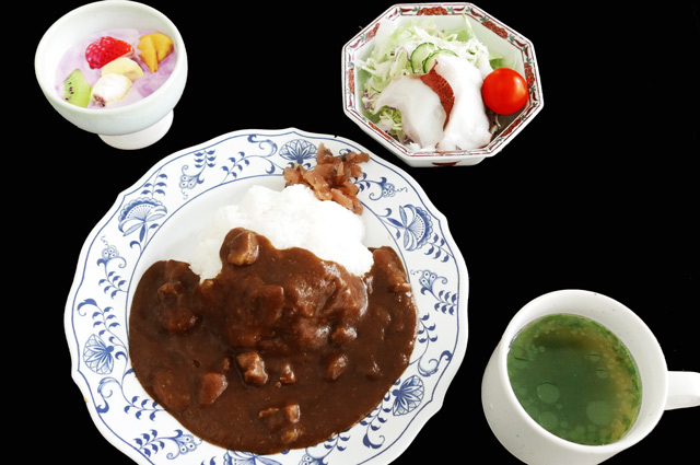 大謙館 昼食(合宿用)の画像